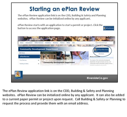 ePlan Review Training