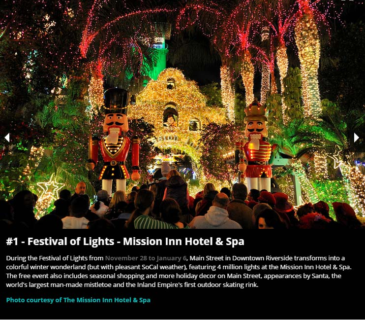 Riverside california city of arts innovation festival of lights usa best sciox Image collections