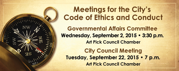 ethics and conduct meeting Information