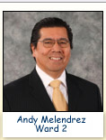 Andy Melendrez, Ward 2