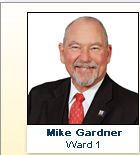 Mike Gardner, Ward 1