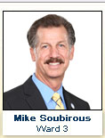 Mike Soubirous, Ward 3