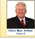 Chris Mac Arthur, Ward 5