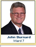John Burnard, Ward 7