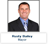 Mayor Rusty Bailey