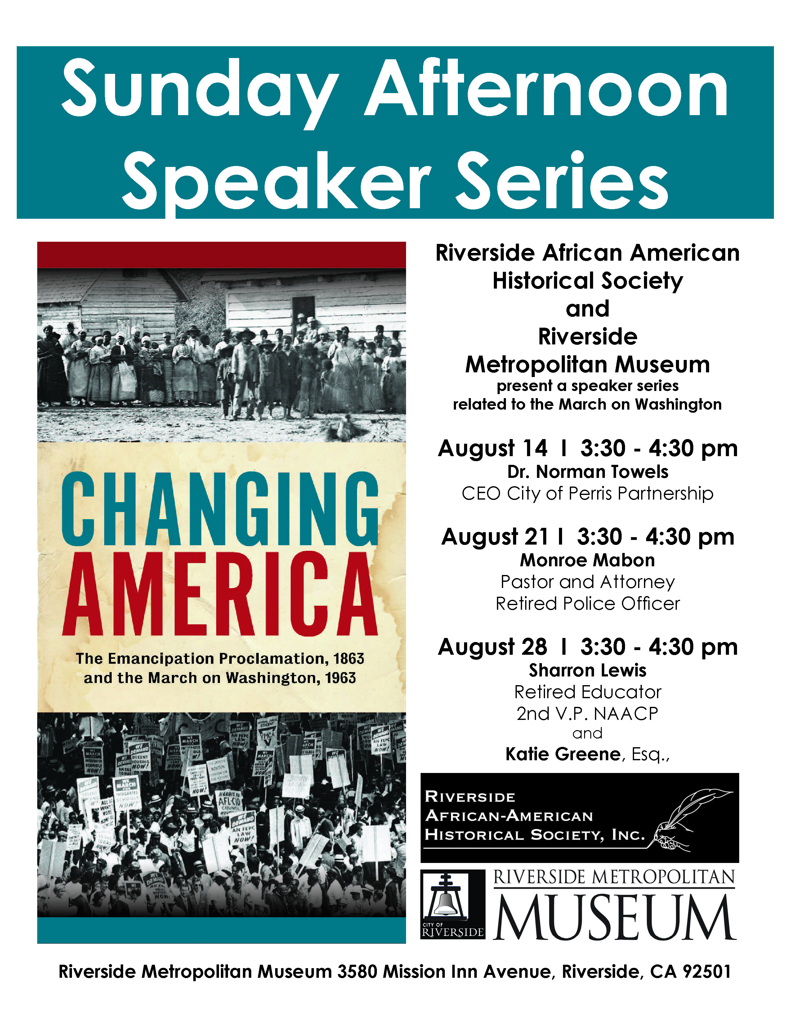 Changing America - Sunday Series