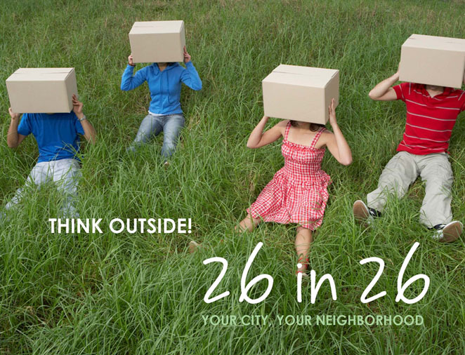 26 In 26 Think Outside The Box