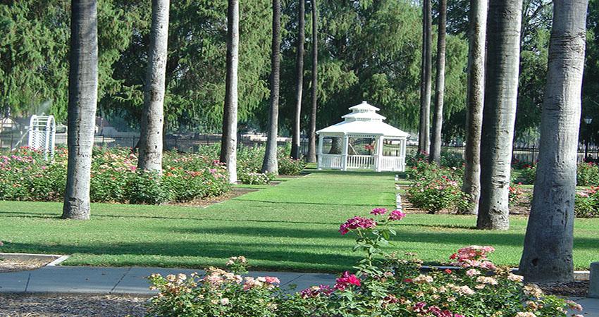 Fairmount Park Riverside California Map.Rose Garden At Fairmount Park Parks Recreation And Community Services
