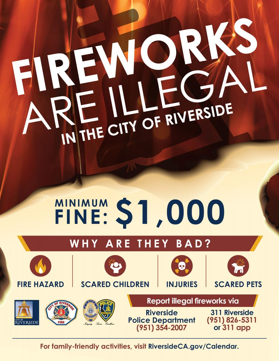 Fireworks Flyer English