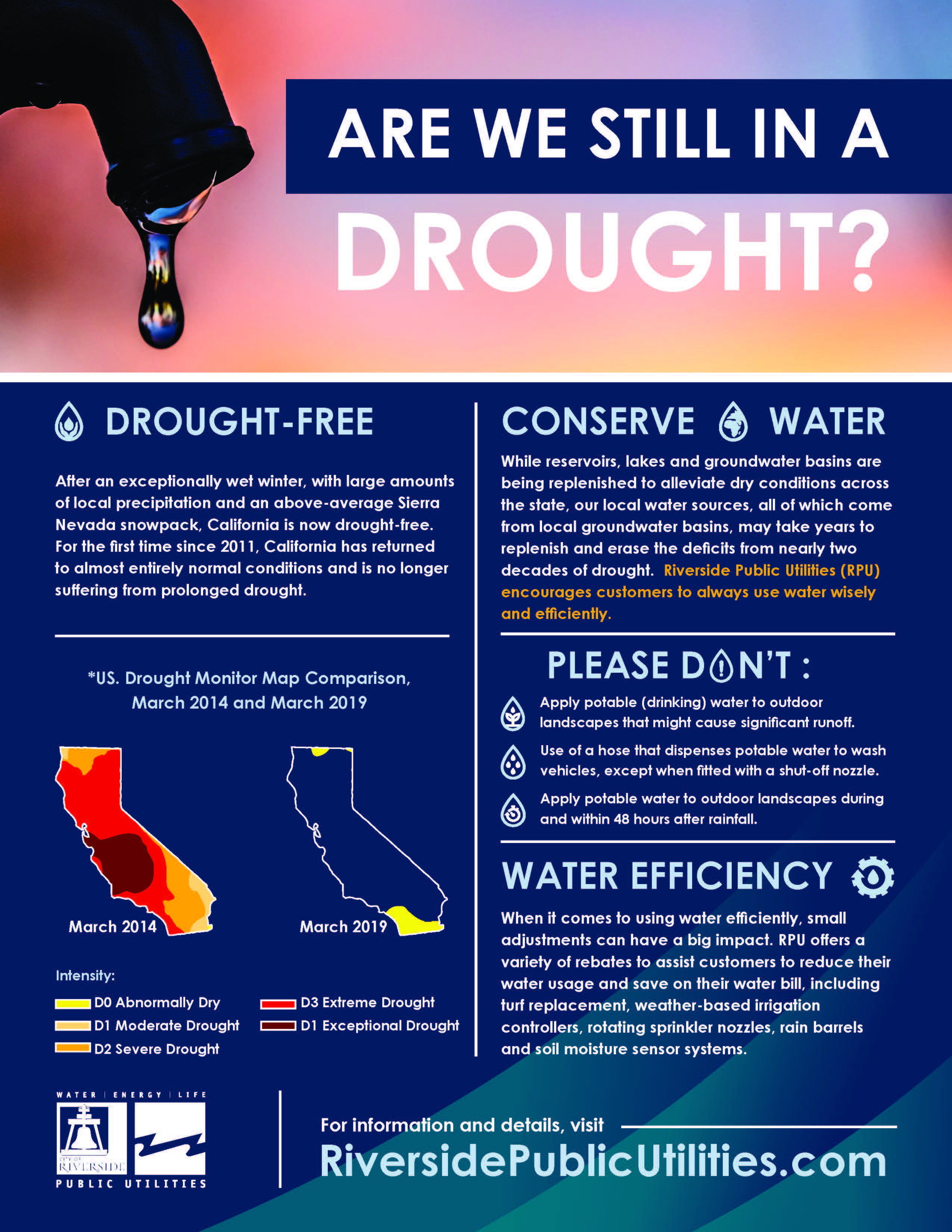 Are We Still in a Drought? | riversideca gov