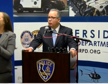 Chief Diaz at Press Conference